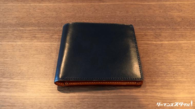 GANZOの財布の外観